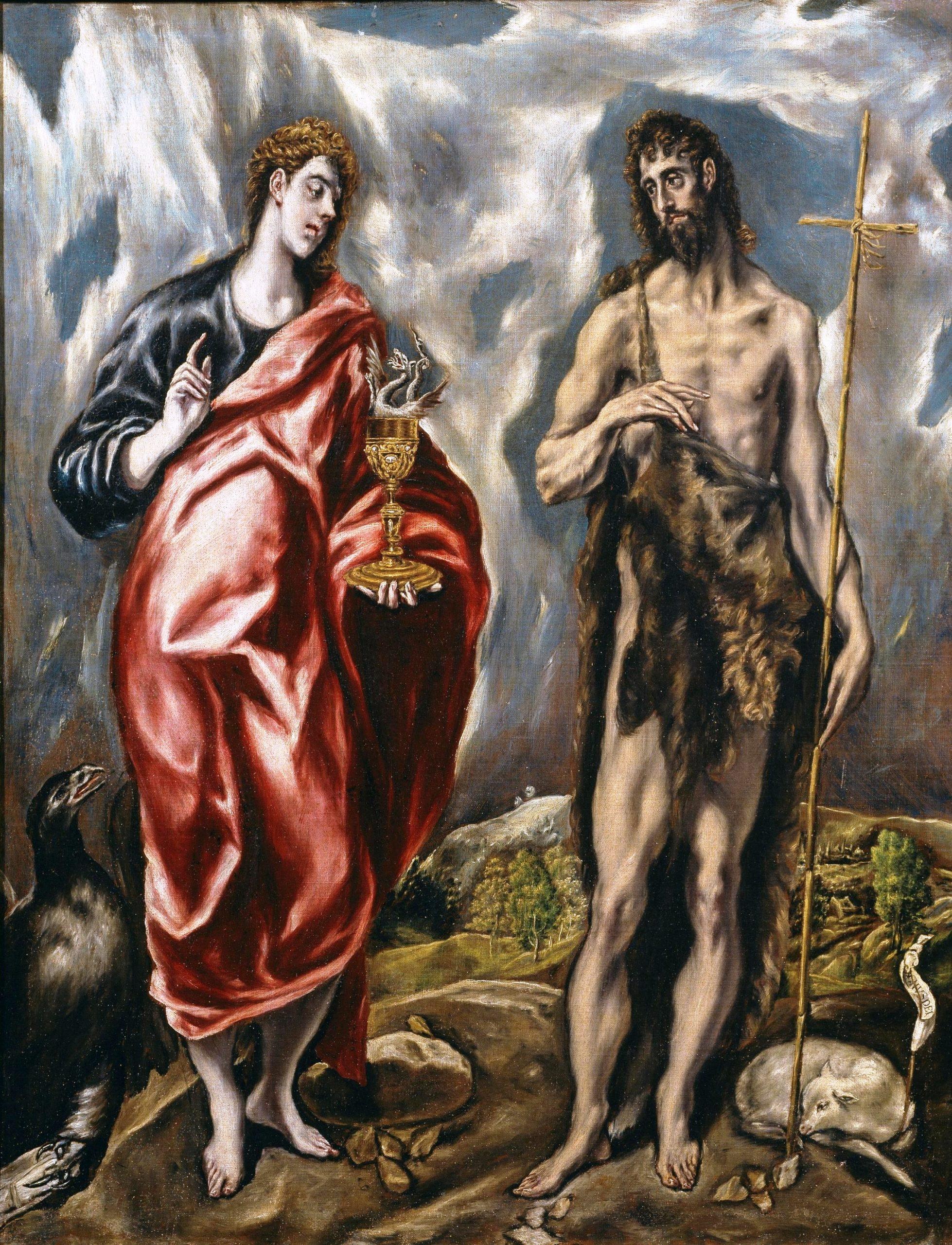 Solstice d'été, solstice d'hiver: Saint Jean-Baptiste et saint Jean l'évangéliste