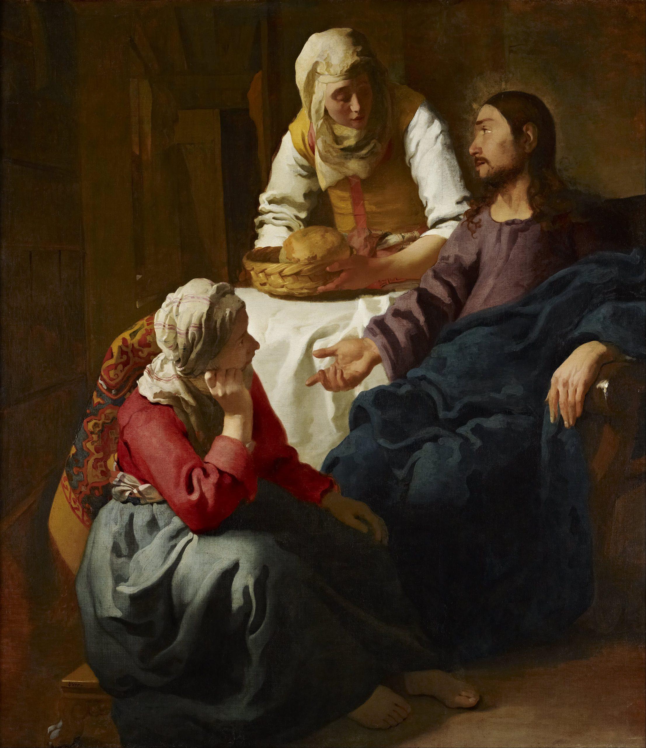 Sainte Marthe, sainte Marie et saint Lazare